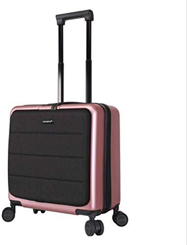 Mochila multiusos Maleta trolley 18 pulgadas Mini Travel maleta, caso carro ligero de equipaje duro Carry vertical Maleta Con TSA Lock 360 ° Rueda multidireccional Mute Adecuado para escalada, senderi