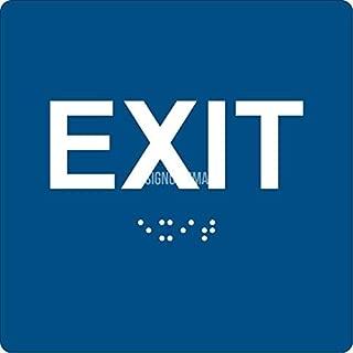 exit ada sign