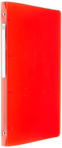 Exacompta IDERAMA 51670E ordner van zacht polypropyleen, 4 ringen, 1,5 cm, rug 2 cm, 32 x 26 cm, 10 verschillende kleuren, willekeurige selectie