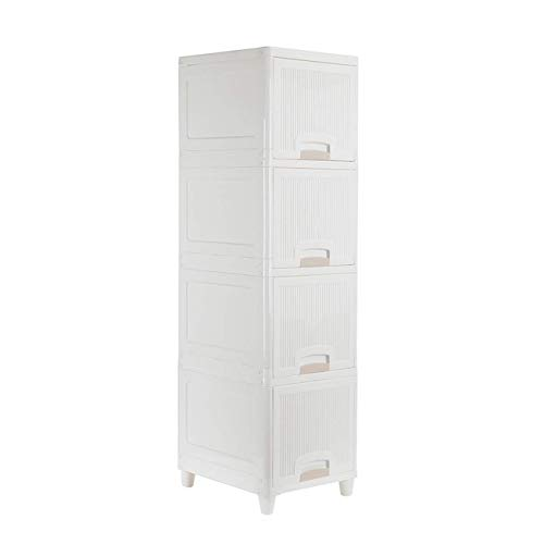 Storage 2021 New Furniture Home Furnishing Plaza 3-Drawer Rolling Cart Organizer Unit with Wheels Narrow Slim Container Cabinet for Bathroom Bedroom Simple Market Basket Stand Organizer