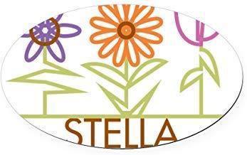 Stella-Leuke-Bloemen Stickers Vinyl Auto Decals Bumper Stickers Grappige Stickers voor Laptop, voor Kinderen, Kerstcadeaus