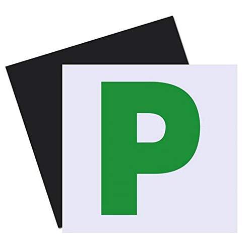 Emwel 2 Pack 100% completamente magnetico P piatti piani, colore: rosso