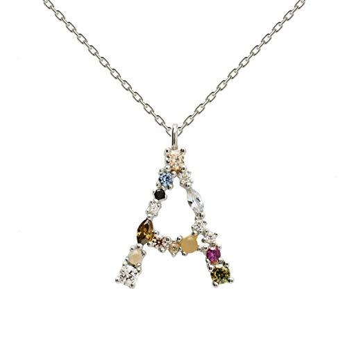 P D Paola Damen-Kette 925er Silber Labradorit One Size A 32012149