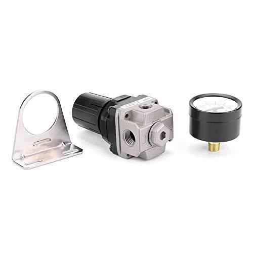 Broco luchtdrukregelaar Gauge compressor controleventiel G1/4 aansluiting