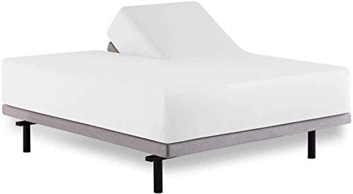 Best-Bedding Split Head Mattress Protector King Size for Adjustable Split-King Size Bed 100% Terry Cotton Surface-Fully Elastic Fitted Style Split Mattress Protector-Split Down 28 inches from The top