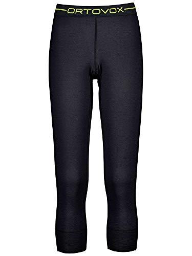 ORTOVOX 145 Ultra Pantalón térmico, Mujer, Black Raven, S
