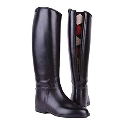 HKM Equestrian Junior Children Waterproof Easy Clean Horse Riding Boots With Zip