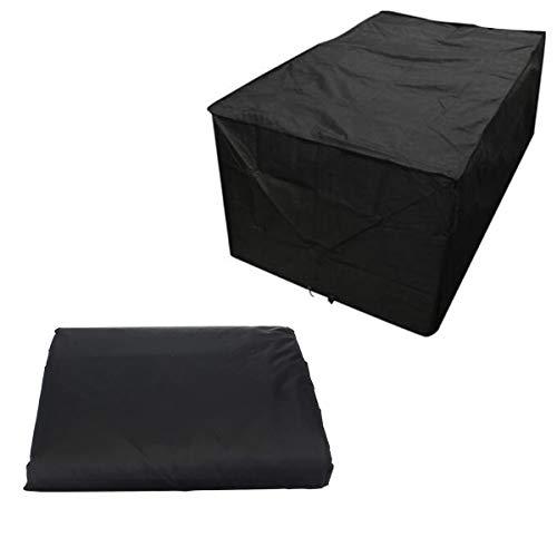 SOONHUA Fodere per mobili da Giardino, Fodera per mobili da Esterno Rettangolare Fodera per Divano componibile Fodera per Divano componibile Impermeabile Antipolvere per Patio (155x95x68cm)