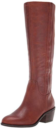 Lucky Brand Women's LK-ISCAH Fashion Boot, Whiskey, 7.5 M US