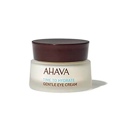 AHAVA Gentle Eye Cream 15 ml Natural Dead Sea Eye Puffiness Reducer. Great for Delicate Skin - Anti Ageing, Wrinkle Reducer, Moisturising, Protective Routine for Women and Men