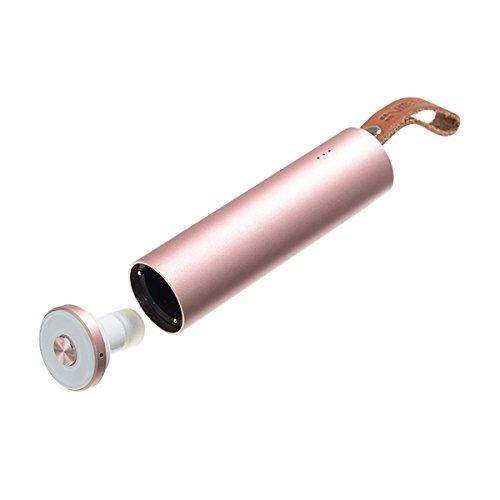 C-FUNN Mains Libres Écouteur Chargeur De Voiture USB Mp3 Lecteur FM Transimittervs avec Fonction Bluetooth-Rose