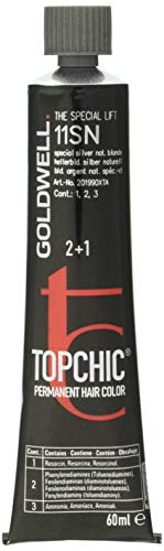 Goldwell Topchic Haarfarbe silver natural 11SN, 1er Pack (1 x 60 ml)
