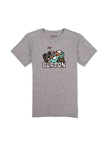 Burton Jungen Vizzer T-Shirt, Gray Heather, XL