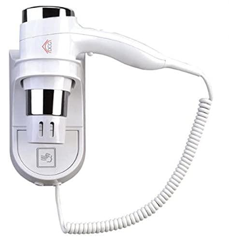 DCG HTW1028 1600W Bianco Asciugacapelli Asciugacapelli (Bianco, con foro sul manico per appendere, 1600 W) 2 livelli di velocità, 3 livelli di temperatura.
