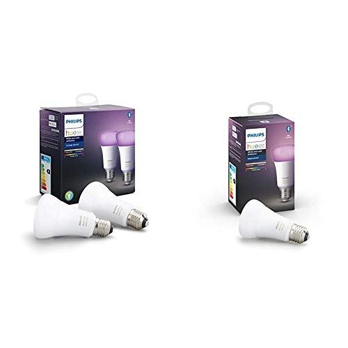 Philips Hue White and Color Ambiance Pack 3 bombillas LED inteligentes E27