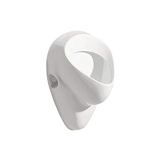 VBChome: Urinal Zulauf von Hinten Weiß Modern Hochwertig Keramik Pinkelbecken Pissoir Kolo Felix