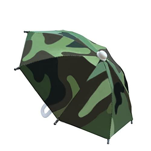 Dingyue Mini paraguas portátil al aire libre impermeable teléfono paraguas protector hermosa muñeca decoración grandes regalos