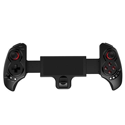 XKstyle Manija de Juego de Bluetooth inalámbrico Conexión Directa Tire de la Tableta de teléfono móvil retráctil Conexión rápida sin demora.