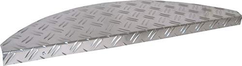 1 Stufenmatte Aluminium - Metall Riffelblech