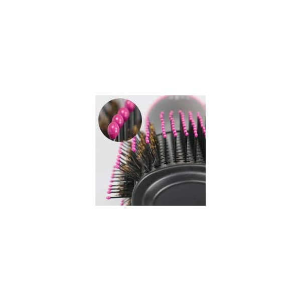 Beauty Shopping Hair Dryer Brush, EMISK Hair Dryer & Volumizer Hot Air Styler Brush, Negative