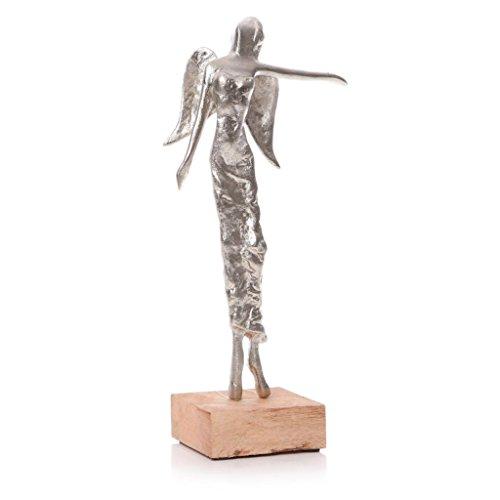 Junction 18-Statuetta in piedi, con angelo, 31 cm