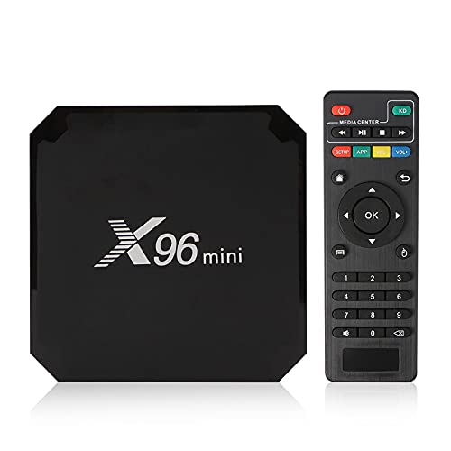 Android TV Box, Laiashley Reproductor Streaming en 4K Ultra HD, 2G+16G Smart TV Box Media Player