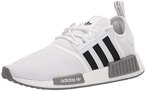 adidas Originals Men's LSA56 Sneaker, White/Black/Grey, 5 UK
