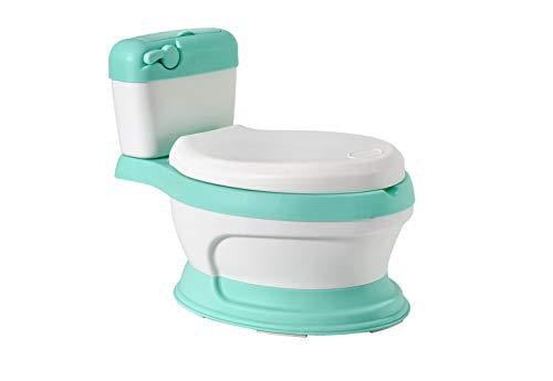Glenmore Vasino Water Mini Forma di WC per Bambini Bambino Lavandino Bimbo Gabinetto Bimbi Verde