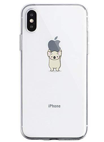 Caler Carcasa Compatible con iPhone XR Funda Transparente con Dibujos TPU Suave Bumper Case con Motivo Bonito en TPU Silicona antigolpes 3D Vogue Ultra Chic