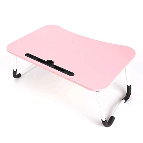 FEANG Schreibtisch Portable Klappbett Computer Schreibtisch, Moderne minimalistische College Schlafsaal Artefakt faul kleine Tabelle Laptoptisch