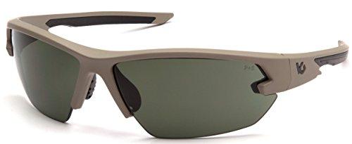 Venture Gear VGST1422T Semtex 2.0 Glasses, Forest Gray Lens, Forest Gray Anti-Fog Lens