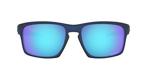 Oakley Sliver 926245 Gafas de sol, Matte Translucent Blue, 57 para Hombre
