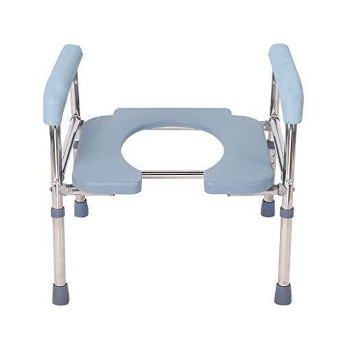 PAN Homecare Toilettenstuhl, freistehend, bariatrischer Toilettenstuhl, tragbarer Toilettensitz, Toilettenstuhl für Erwachsene Senioren