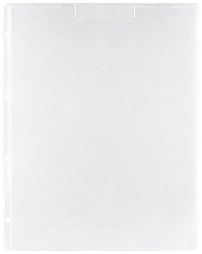 Xcut Docrafts Storage Wallets A4 Pockets 5pc Aufbewahrungsbörse, Clear, Einheitsgröße