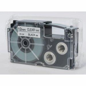 Casio XR-12x Label Etikette