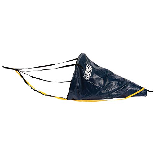 "Lindy Drift Control Drift Sock Boat Bag Parachute Drift Anchor for Fishing Boat, Fisherman Series, 54"""