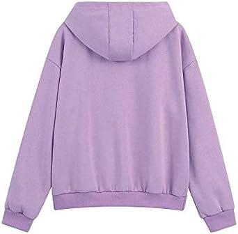 Women Solid Color Tracksuit Set Winter Outdoor Hooded Sportwear Ladies Casual Loose Pocket Sweatshirts