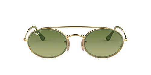 Ray-Ban Unisex 91224M zonnebril voor volwassenen, Goud, 52