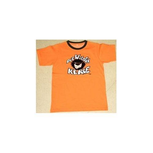 DIE WILDEN KERLE - LOGO T-Shirt orange - Wilde Größe 122