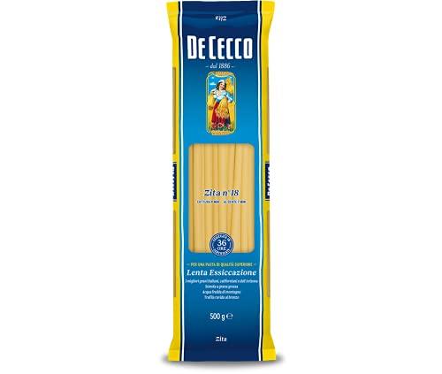 De Cecco - Zita, Pasta di Semola di Grano Duro - 500 g - [confezione da 12]