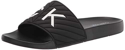 Calvin Klein Women's kcANDERS Slide Sandal, Black180, 7