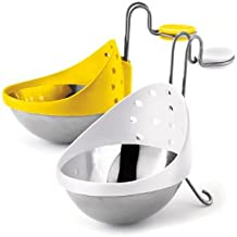 Cuisipro Stainless Steel Egg Poacher, Set of 2
