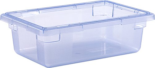 StorPlus 10611C14 3.5 Gallon Color-Coded Box 18 x 12 x 6 - Blue( Lid Sold Separately)