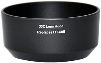 eFonto JJC Lens Hood Replaces Olympus LH-40B For Olympus Zuiko 45mm f1 8 Black
