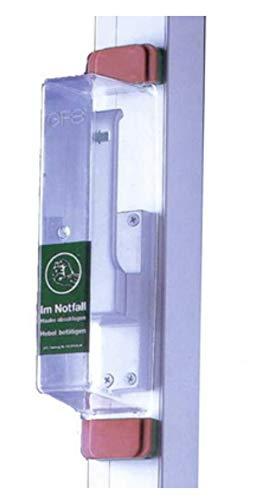 GFS Fluchttürhaube Modell : E für Treibriegel - wiederverwendbar Treibriegeln von MBS-FIRE®