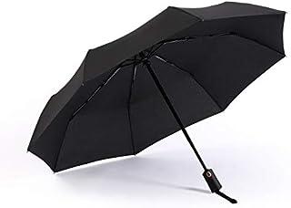 RUMBRELLA Automatic Travel Umbrella Compact Foldable Windproof Umbrellas Large for Men Women, Auto Open Close, Easy Lock