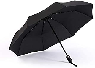 RUMBRELLA Automatic Travel Umbrella Compact Foldable Windproof Umbrellas Large for Men Women, Auto Open Close, Easy Lock