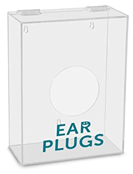 TrippNT 51320 Ear Plugs Labeled Small Apparel Dispenser 9  Width x 12  Height x 4  Depth
