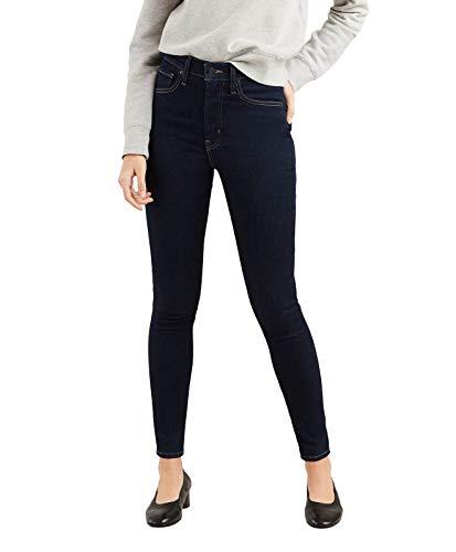 Levi's Mile High Super Skinny Jeans, Risciacquo Celeste, 25W/28L Donna