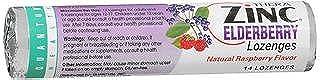 Quantum Health Thera Zinc Elderberry Lozenges Natural Raspberry Flavor - 12 Packs of 14 Each, Pack of 3